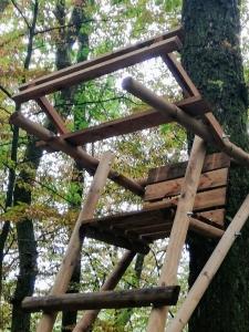 Baumleiter Augenhöhe 4,00m
