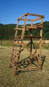 Drückjagdbock 2-Sitzer 3 m